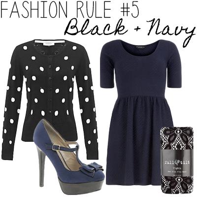 black+navy