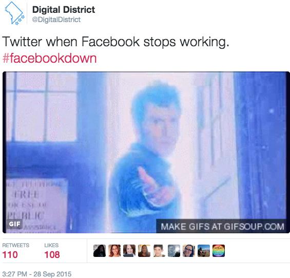 DD-Facebook down